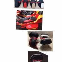 Sepaket backrest sandaran+jok pcx 150 lokal model cobra full mbtech