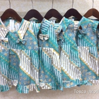 Batik anak batik bayi dress batik anak baju anak