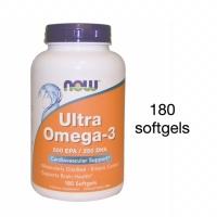 Now Foods Ultra Omega-3 500 EPA / 250 DHA 180 softgels