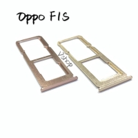Simtray Sim Lock Tempat Simcard Oppo F1S Gold/Rose Gold