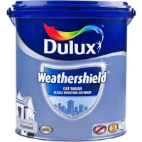 Dulux Weathershield Primer Cat dasar Exterior Alkali 2,5L Gallon