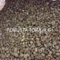 KOPI ROBUSTA TORAJA GRADE 1 GREEN BEAN