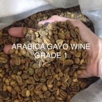 ROYAL COFFEE ARABICA GAYO WINE.GREEN.BEAN.GRADE 1 KOPI