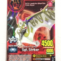 Sgt. striker - Animal Kaiser Evolution - Hologram Original
