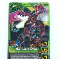 The Great Escape - Animal Kaiser Evolution - Hologram Original