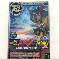 Crashing Moon - Animal Kaiser Evolution - Hologram Original