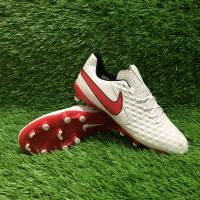 Sepatu Bola Nike Tiempo Legend VIII White / Red