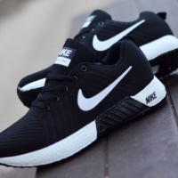 Sepatu Nike Free Flyknite Sepatu Sneakers Pria Olahraga Warna Hitam pu
