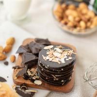 ALMOND BITES CRISPY CRACKERS CHOCOLATE
