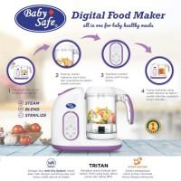 Food Processor Baby Safe Digital Food Maker