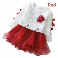 Baju gaun dress pesta fashion anak perempuan balita 2 3 4 tahun cewek