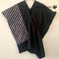 Blouse tenun lurik Mix batik
