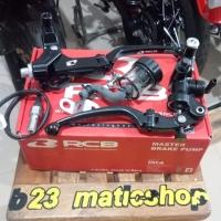 master rem rcb full set handle kiri tipe s1 universal semua motor blac
