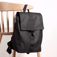 Tas Ransel Pria Sekolah Kuliah PU Leather Backpack 6541