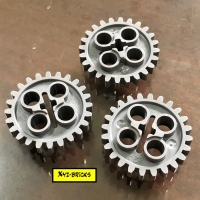 LEGO PARTS 6133119 - Technic Gear Wheel Z24 DBG - Dark Bluish Grey