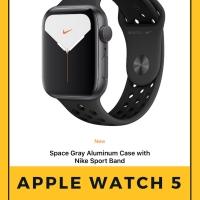 Apple Watch Series 5 40mm Nike+ Space Grey Black Nike Sport Band