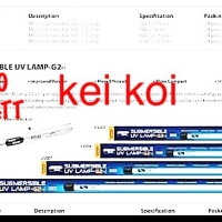 LAMPU UV AQUAZONIC / AQUA ZONIC 20 WATT