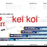 LAMPU UV AQUAZONIC / AQUA ZONIC 15 WATT