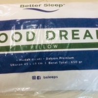 Bantal Dakron Premium Better Sleep Good Dream