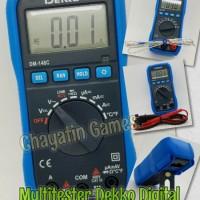 Multitester / Avometer / Tester Digital Merk DEKKO Type DM 148C