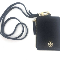 TB Leather ID Badge w/Card and Coin Slots (Black)