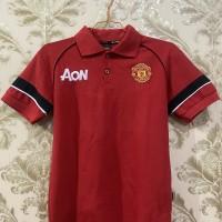 Baju Polo Anak Merah Manchester United
