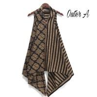 Outer Vest Bolero Batik Cantik Bahan Katun Motif Sogan Jawa