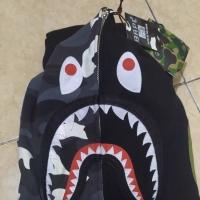 BAPE SHARK HOODIE HALF GITD