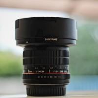 lensa fisheye samyang f3.5 8mm for canon