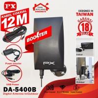 Antena Antenna TV PX Digital Analog Kabel 12M Indoor Outdoor DA-5400B