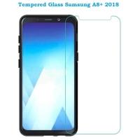 TEMPERGLASS ANTI GORES KACA TEMPERED GLASS SAMSUNG GALAXY A8+ A8 PLUS