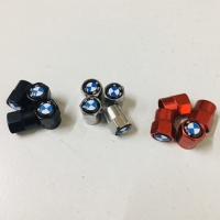 Tutup Pentil Ban Mobil Motor BMW 1 Set Isi 4 - Black / Silver / Red
