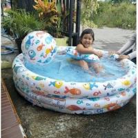 Kolam Renang Anak, Kolam renang Bayi Intex, kolam renang free balon
