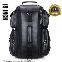 Tas Ransel pria Kulit Witzman Original Import Tas Backpack Tas Gunung