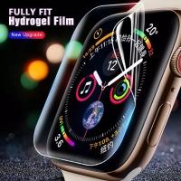 Anti gores hydrogel aqua apple watch iwatch 3 4 5 3D full screen guard