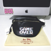 COACH X PACMAN GAME OVER WAISTBAG FANNY PACK RARE ITEM