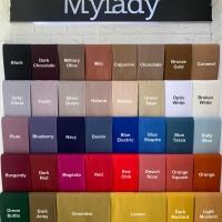 MyLady Hijab Square Bahan Voal Plain / Polos