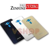 Backdoor Tutupan Belakang Asus Zenfone 3 ZE520KL Black White Gold