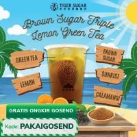 Brown Sugar Triple Lemon Green Tea