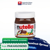 Nutella Chocolate Hazelnut Spread / Selai Coklat Hazelnut 350 gr