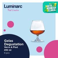 Luminarc Gelas Degustation - Verre A Pied 410 ml - 6 pcs