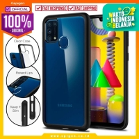 Case Samsung Galaxy M31 SPIGEN Ultra Hybrid Anti Crack Clear Casing