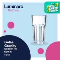 Luminarc Gelas Granity - Gobelet Fh 650 ml - 6 pcs