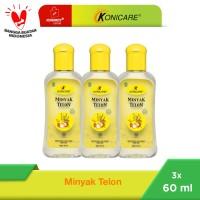 Konicare Minyak Telon 60 ml Paket 3 botol