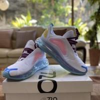 Sepatu Nike air Max 720 - White/Pink/Blue