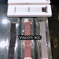 Strap apple watch stainless 42mm / 44mm magnet ori oem