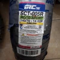 BAN LUAR BELAKANG TUBELESS YAMAHA AEROX 155 140/70-14 MERK IRC SCT 005