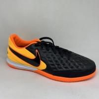 Sepatu futsal nike original Legend 8 Academy black orange 2020