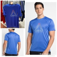 T-shirt reebok original man delta graphic tee blue