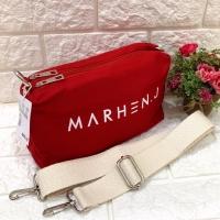 Tas Selempang Wanita Sling Bag Marhen J 2 ruang Tas Kanvas